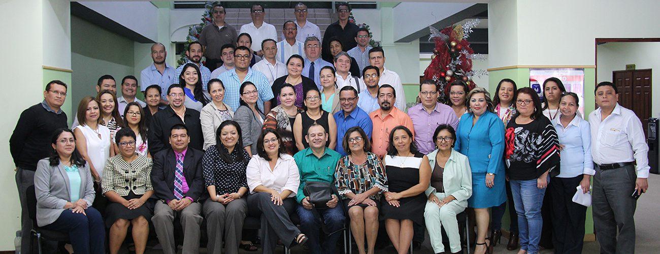 Reunión de capacitación Ministerio de Salud e ISSS